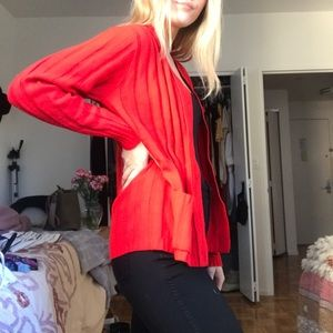 Other - Red Thrifted Sweater
